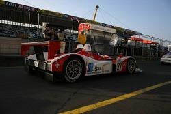 #27 Horag Lista Racing Lola B05/40 - Judd: Fredy Lienhard, Didier Theys
