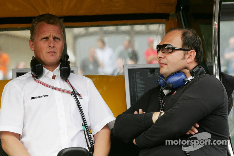 Johnny Herbert y Colin Kolles
