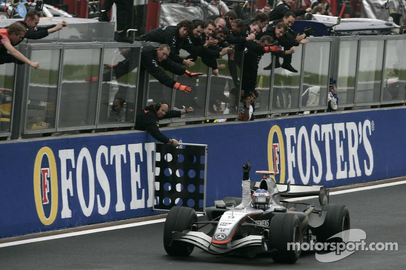 2005: Гран При Бельгии, McLaren MP4-20. Стартовал 2-м