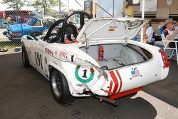 1962 MG Midget of Tom Glanville was wacked