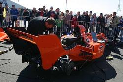 Lausitz A1GP demo test