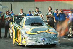 Tony Pedregon won in Funny Car
