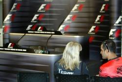 FIA press conference: Juan Pablo Montoya arrives early