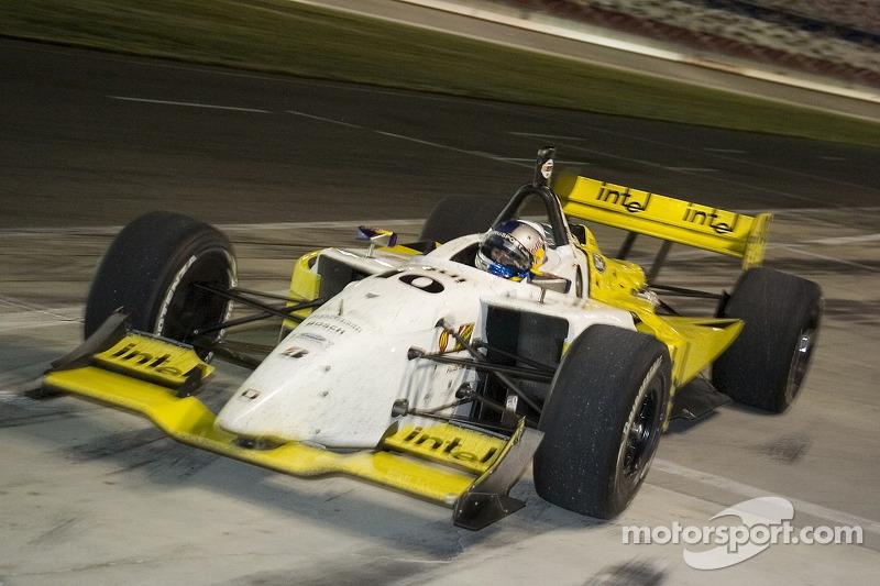 A.J. Allmendinger runs out of fuel