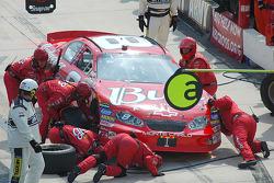 Dale Earnhardt Jr.'s crew look for a break problem that set him back seven laps
