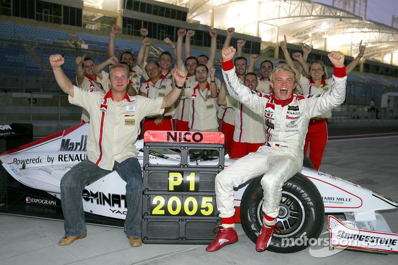 2005: 1. GP2-Champion der Geschichte