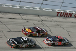 Kurt Busch, Martin Truex Jr. and Kevin Harvick