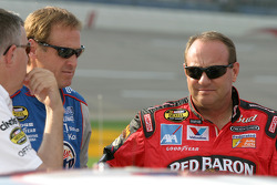 Rusty Wallace and Ken Schrader