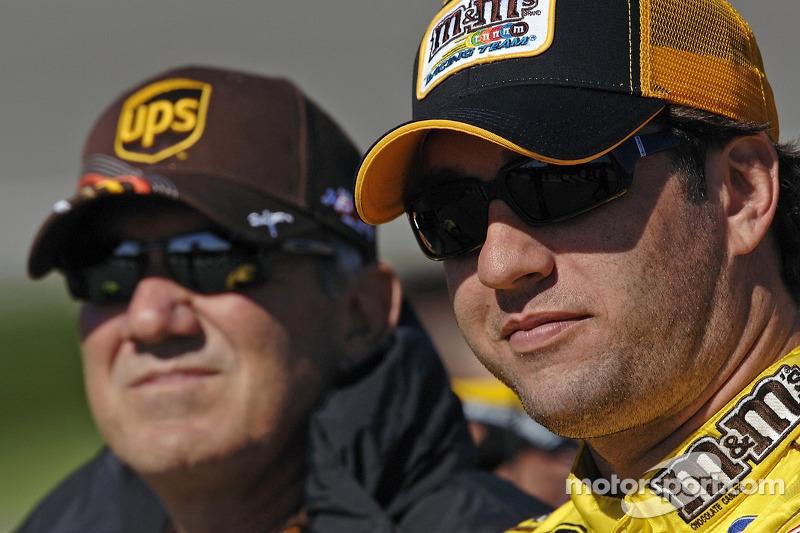 Dale Jarrett and Elliott Sadler