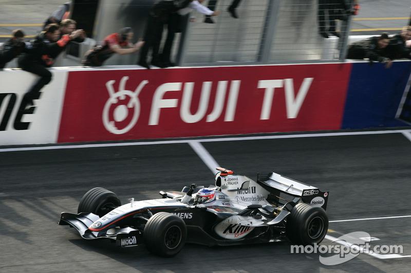 2005: Kimi Raikkonen, McLaren-Mercedes