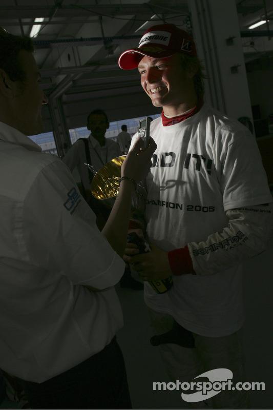 Ganador de la carrera Nico Rosberg