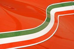 Stripes of the 1980 Ferrari 312 T5