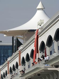 Istanbul Otodrom pit building