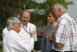Bernie Ecclestone and Dietrich Mateschitz