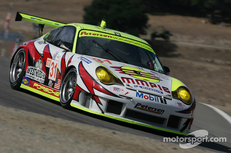 Petersen Motorsports/White Lightning Racing Porsche 911 GT3 RSR : Michael Petersen, Patrick Long, Jorg Bergmeister
