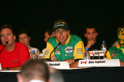Drivers parade: Marcus Marshall