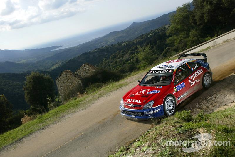 2005, Tour de Corse, Citroën Xsara WRC