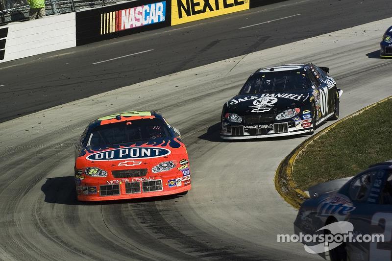 Jeff Gordon y Dave Blaney