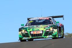 #16 Phoenix Racing, Audi R8 LMS ultra: Felix Baumgartner, Christopher Haase, Stéphane Ortelli