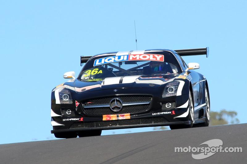#36 Erebus Motorsport Mercedes SLS AMG GT3: Jack LeBrocq, Richard Muscat, Dean Canto