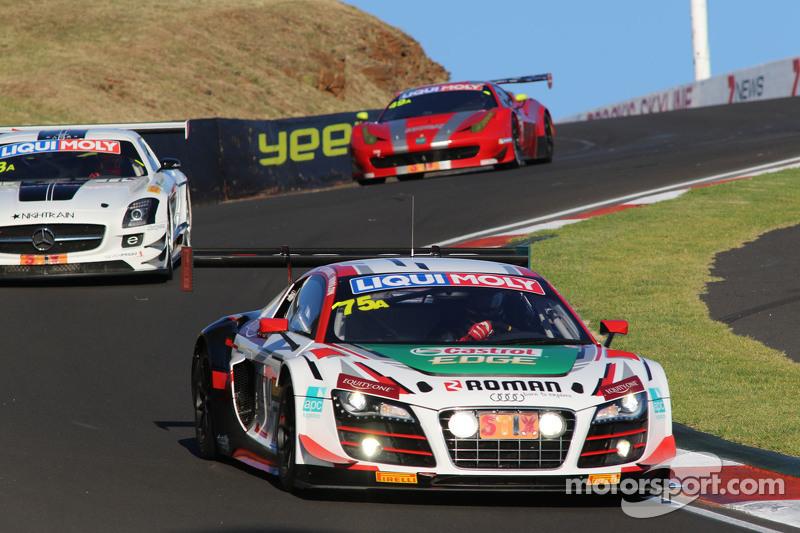 #75 Audi R8 LMS GT3: Steve McLaughlin, James Winslow, Dean Koutsoumidis