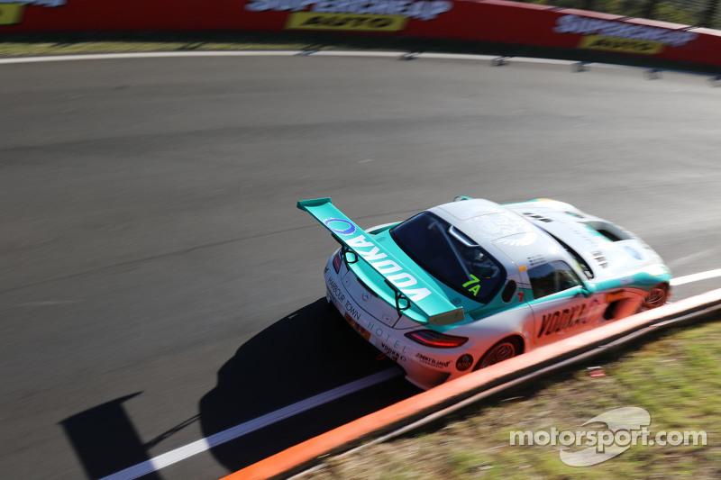 #7 梅赛德斯SLS AMG GT3: Dean Grant, Ash Samadi, Max Twigg