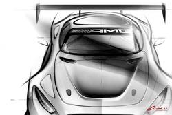 إعلان لسيارة مرسيدس-إيه أم جي جي.تي3 الجديدة لعام 2016