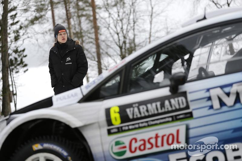 Ott Tanak, M-福特车队 Fiesta WRC