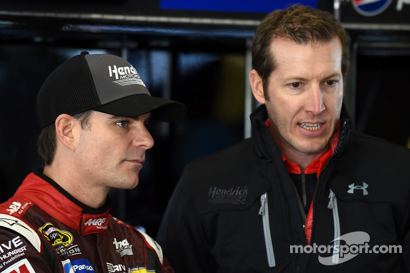 Alan Gustafson e  Jeff Gordon, Hendrick Motorsports Chevrolet