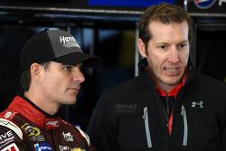 Alan Gustafson und Jeff Gordon, Hendrick Motorsports, Chevrolet