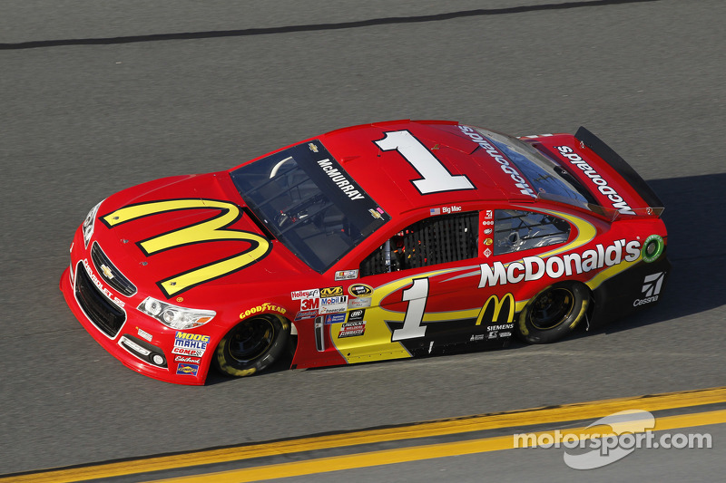 Jamie McMurray, Ganassi Racing Chevrolet at Daytona Unlimited