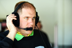 Daniel Knost, crew chief for Danica Patrick, Stewart-Haas Racing Chevrolet