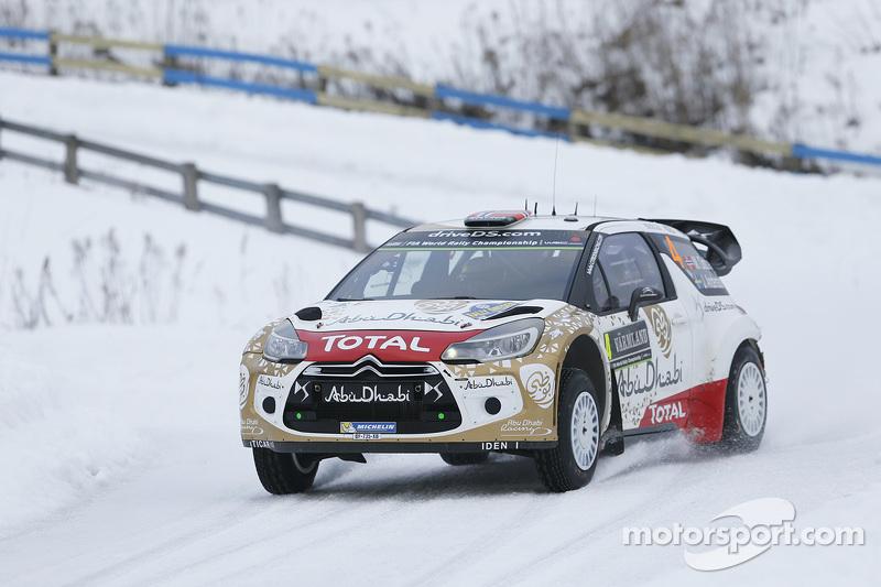 Медс Остберг та Йонас Ендерсон, Citroen DS3 WRC, Citroen Total Abu Dhabi World Rally Team