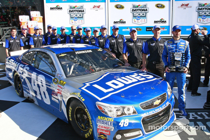 2. im Qualifying, Jimmie Johnson, Hendrick Motorsports, Chevrolet
