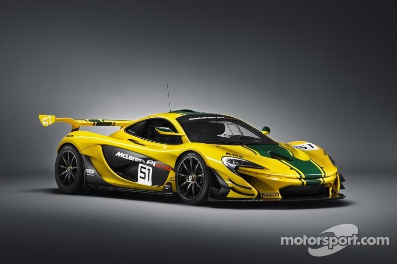 McLaren P1 GTR duyurusu