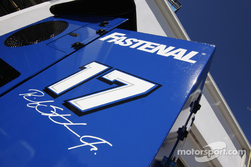 Number of Ricky Stenhouse Jr., Roush Fenway Racing Ford