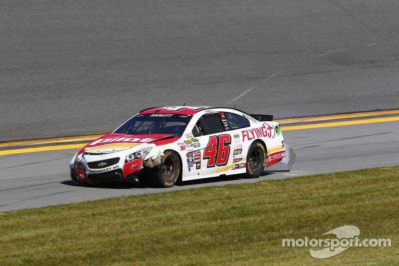 Майкл Аннетт, HScott Motorsports Chevrolet в біді
