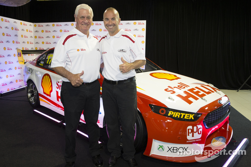 Dick Johnson und Marcos Ambrose, Team Penske, Ford