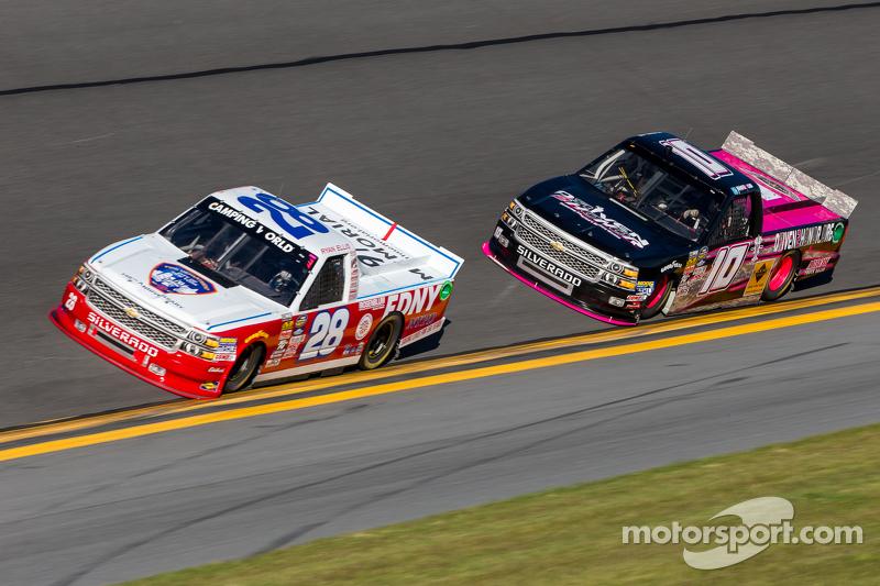 Ryan Ellis, FDNY Racing Chevrolet, Jennifer Jo Cobb, Jennifer Jo Cobb Racing Chevrolet