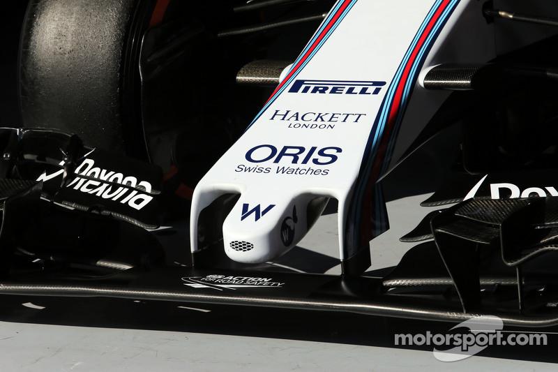 Williams FW37, Frontpartie, Detail