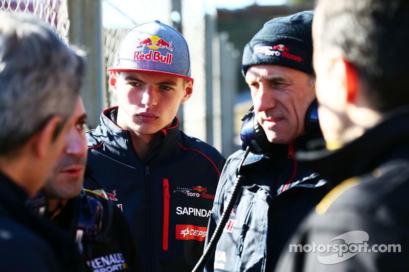Макс Ферстаппен, Scuderia Toro Rosso та Франц Тост, Керівник команди Scuderia Toro Rosso