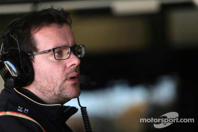 Julien Simon-Chautemps, engenheiro da Lotus F1 Team