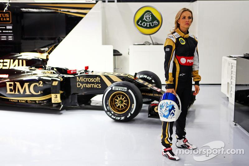 Кармен Хорда. Кармен Хорда анонсирован как водитель Lotus, особое событие.