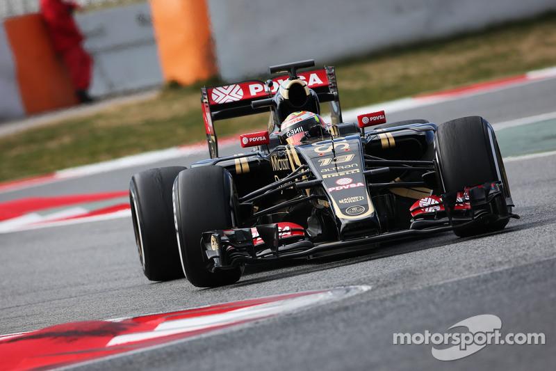 Пастор Мальдонадо, Lotus F1 E23