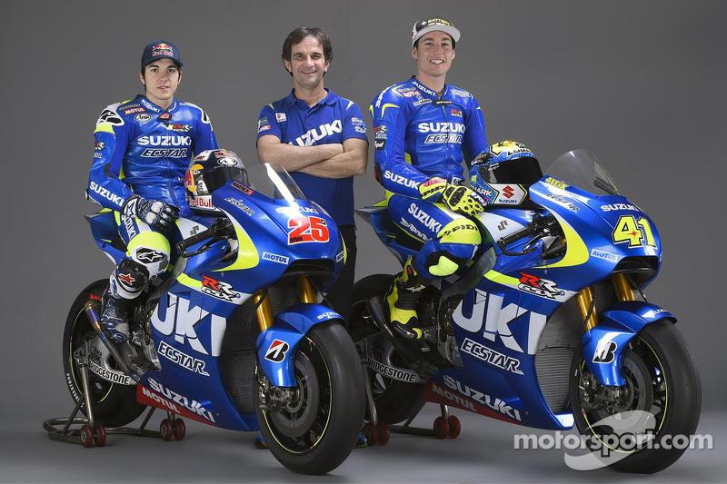 Maverick Viñales, Suzuki MotoGP Takımı, Aleix Espargaro, Suzuki MotoGP Takımı