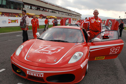 Rory Byrne and the new Ferrari F430