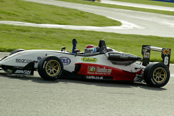 Victory in race 1 for Charlie Kimball with the race finishing behind the saftety car