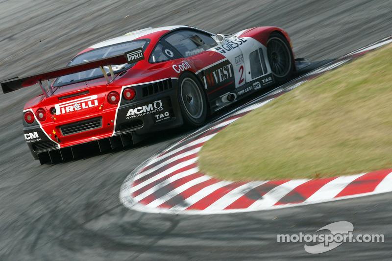 G.P.C. Sport Ferrari 575 M Maranello : Jean-Denis Deletraz, Andréa Piccini