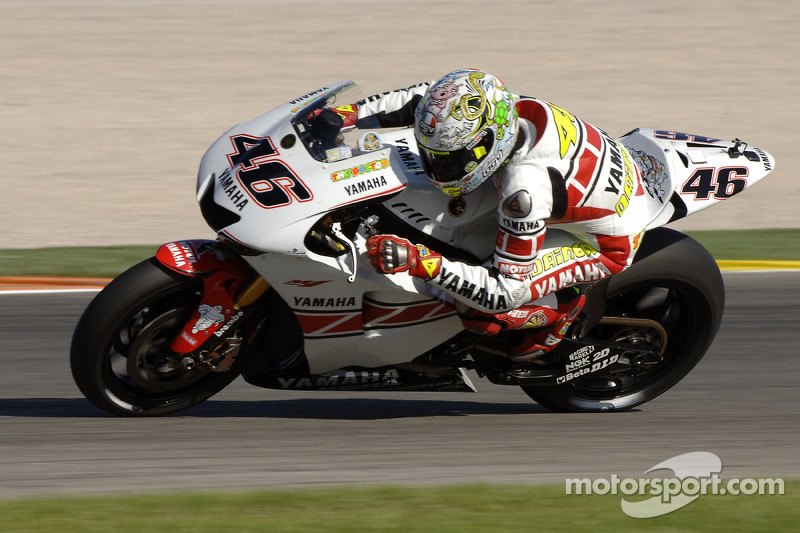 2005: Yamaha YZR-M1