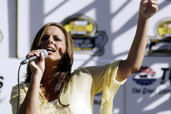Country music recording artist Sara Evans performs